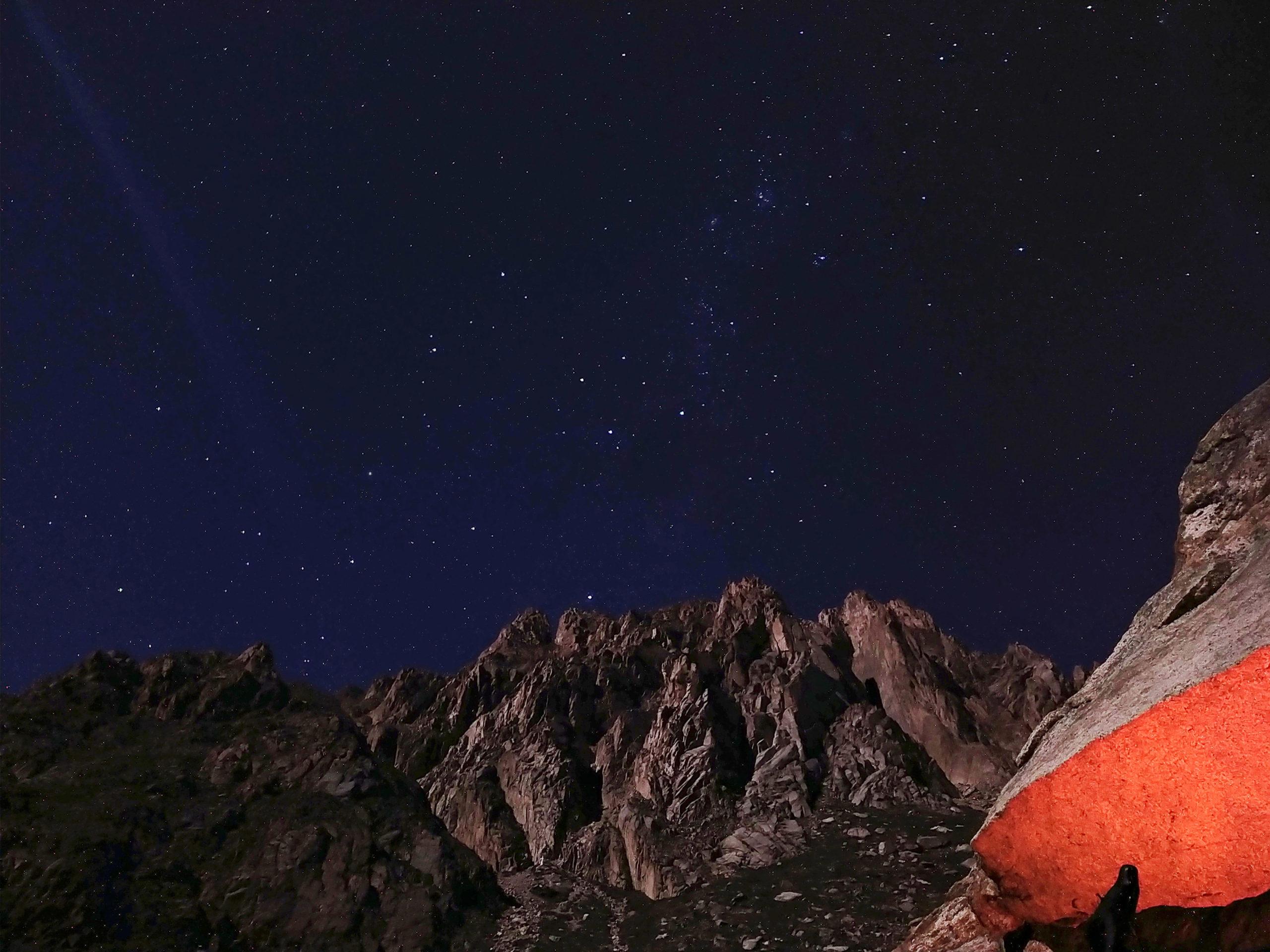 Facing the walls of Los Andes